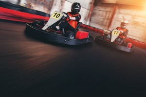 Buck's Party Ideas - Go Karting at Sidetracked
